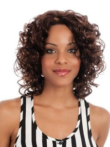 Body Style Lace Front Synthetic African American Wig