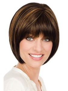 Classic Short Bob Style Style Lace Front Wig