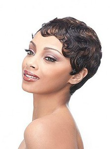 Synthetic Heat Friendly Full Lace African American Wig
