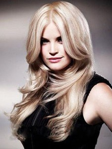 Brilliant Lace Front Synthetic Straight Wig