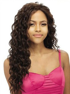 Remy Human Hair Water Wave Lace Front Wig For Woman