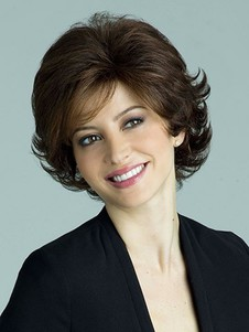 Most Popular Wavy Capless Short Length Synthetic Wig