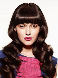 Fabulous Wavy Synthetic Capless Wig