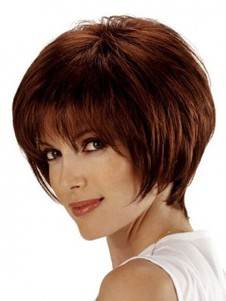 Short Striking Bob Style Cut Wig