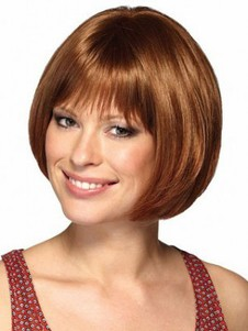 Synthetic Bob Style Graceful Capless Wig