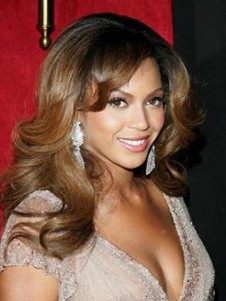 "16"" Beyonce Full Lace Wavy Celebrity Wig"