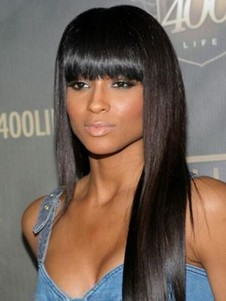 Synthetic Long Popular Straight Capless Wig