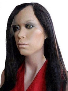 Remy Human Hair Silky Straight Long U Part Wig