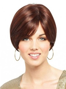 Synthetic Bob Style Full Lace Wig