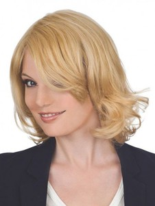 Sweet Length Medium Human Hair Wig