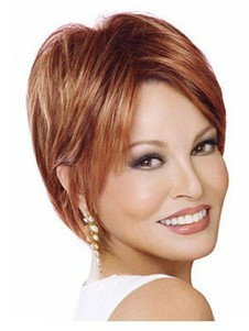 Lace Front Short Charming Straight Wig For Woman