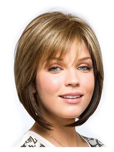 Magnificent Human Hair Monofilament Bob Wig