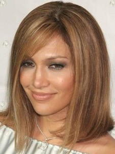 Good Looking Straight Human Hair Lace Front Wig