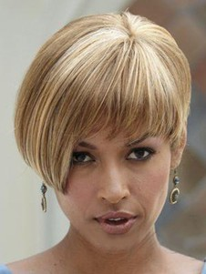 Capless Straight Short Stunning Celebrity Wig
