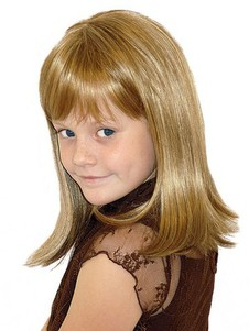 Length Full Lace Shoulder Kids Wig
