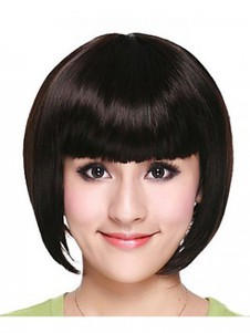 Synthetic High Quality Bob Style Straight Wig