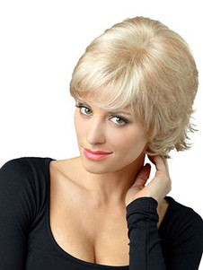 Synthetic Smooth Straight Capless Wig
