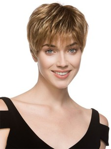 Monofilament Lace Front Straight Elegante Synthetic Wig