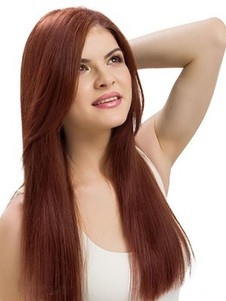 Lace Front High Quality Remy Human Hair Straight Wig
