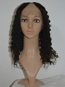 Curls Remy Hair Spiral U Part Wig