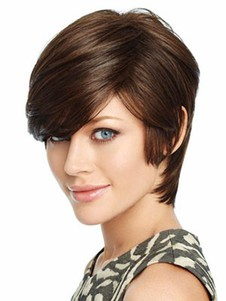 Synthetic Straight Fabulous Lace Front Wig