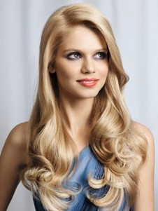 Heat Friendly Lace Front Synthetic Wig For Woman