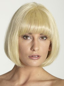 Luxury Full Lace Bob Style Human Hair Wig