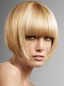 Stunning Straight Synthetic Capless Wig