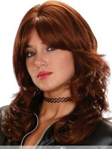 Wavy Fashionable Synthetic Capless Wig