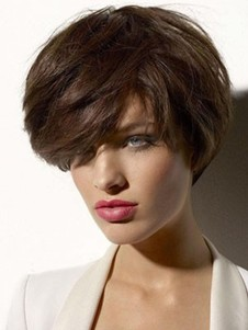 Synthetic Admirable Straight Capless Wig