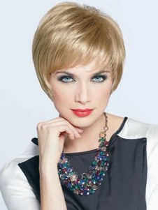 Charming Red Short Straight Layesynthetic Bob Wig