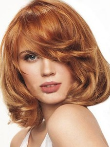 Bob Wavy Lovely Hairstyle Lace Wig For Woman