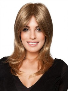 Blonde Wavy Monofilament Long Romantic Sleek Wig