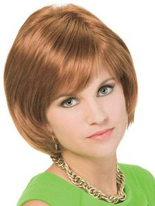 Synthetic Nice Straight Capless Bob Wig