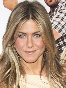 Jennifer Aniston Full Lace Human Hair Straight Celebrity Wig