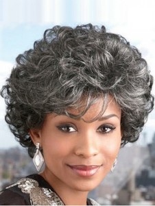 Ultra Lite Synthetic Short Gray Wig
