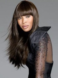 Charming Straight Synthetic Capless Wig