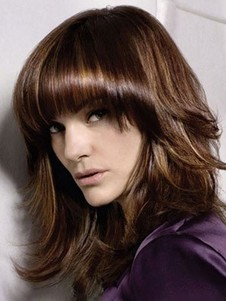 Synthetic Impressive Straight Capless Wig