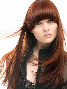 Elegant Straight Synthetic Long Capless Wig