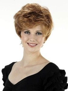 Capless New Style Wavy Short Synthetic Wig