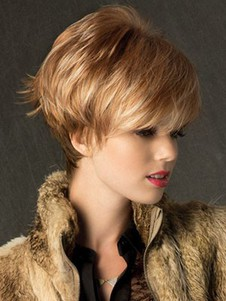 Satisfied Short Capless Synthetic Wig