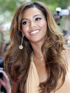 Long Beyonce Synthetic Fabulous Celebrity Wig