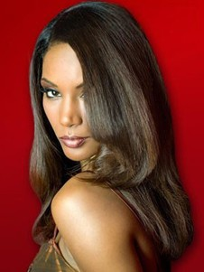 Synthetic Marvelous Straight Lace Front Wig