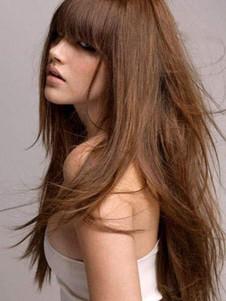 Long Capless Length Stupendous Straight Human Hair Wig