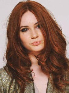 Wavy Charming Lace Front Remy Human Hair Wig