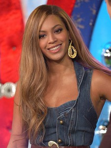 Beyonce Hairstyle Side Parting Long Celebrity Wig