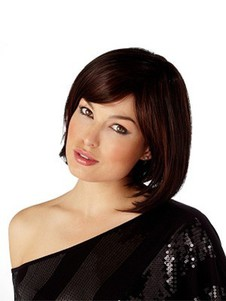 Synthetic Styleable Heat-friendly Bob Style Hair Wig