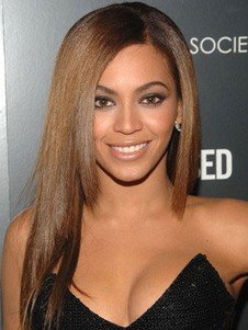 Beyonce Straight Natural Full Lace Celebrity Wig