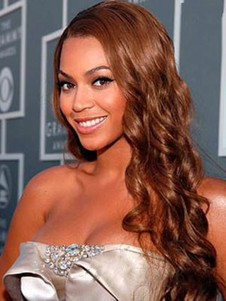 Synthetic Beyonce Hairstyle Beautiful Lace Front Wig