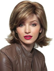 Straight Synthetic Stunning Lace Front Wig